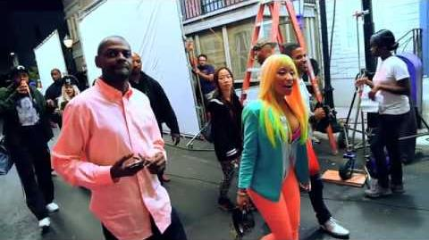 Nicki Minaj Ft Cassie - The Boys (Behind The Scenes) Video Officiel