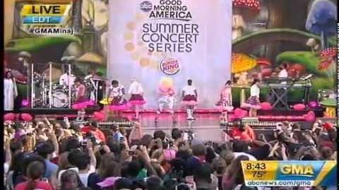 Nicki Minaj On Good Morning America Part2