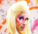 Pink Friday: Roman Reloaded photo shoot