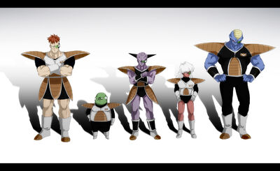 The Ginyu Force by Tansan Otoko