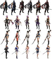 NG3-RE Costumes