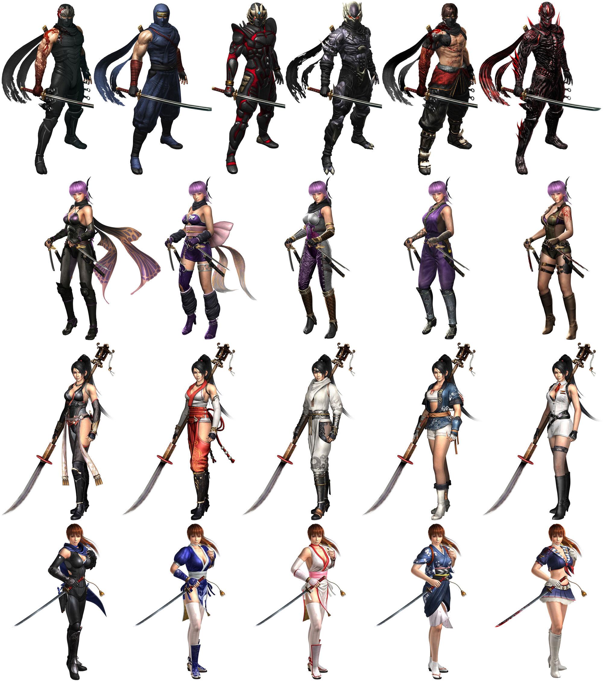 Warriors Orochi 3 Ultimate Ryu Hayabusa: Image - NG3-RE Costumes.jpg