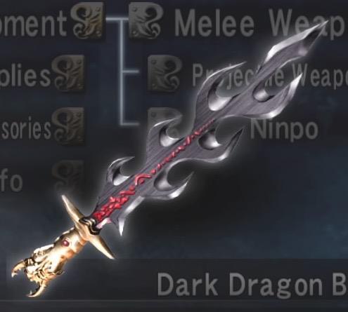 Dark Dragon Blade - Ninja Gaiden Wiki - Wikia