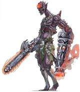 NG2 Art Enemy Chainsaw Zombie 1