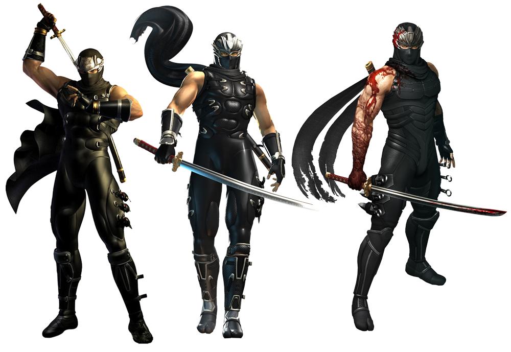 Ninja Gaiden Clans Ninja Gaiden Legendary Black