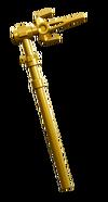 Golden tri scythe
