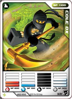Cole DX Card