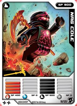 card 16 nrg cole ninjago wiki fandom powered by wikia