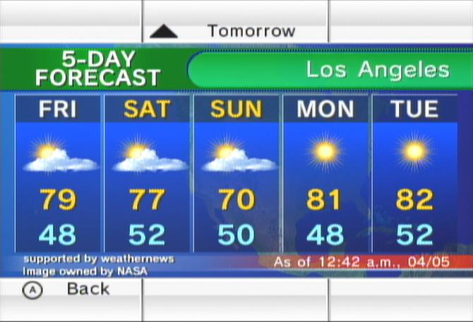 Weather Channel Forecast : Forecast channel nintendo fandom powered by wikia
