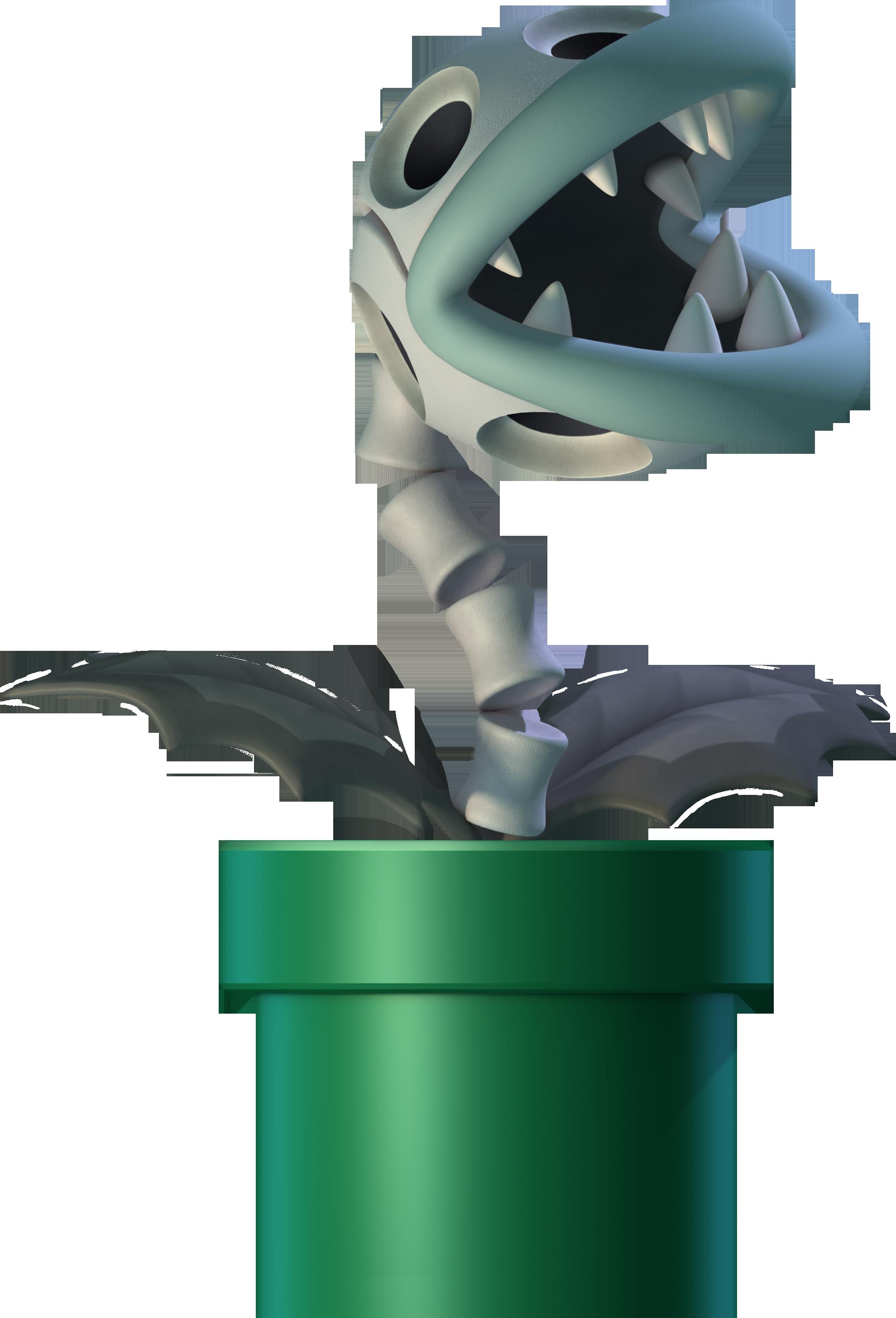 Bone Piranha Plant Nintendo Fandom Powered By Wikia