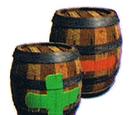 Plus and Minus Barrel