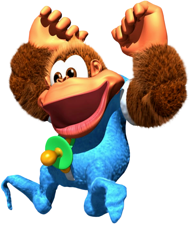 This is an image of Refreshing Donkey Kong Picture