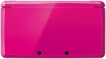 Shimmer Pink 3DS closed
