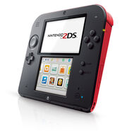 Nintendo 2DS side view