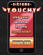Nitrome Touchy Controller ad