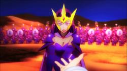 Seduces queen