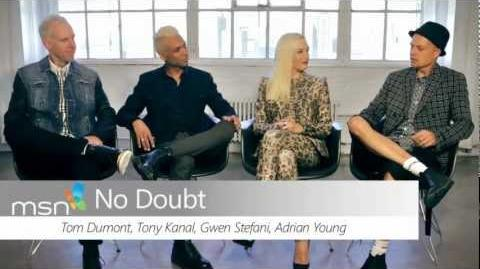 No Doubt Interview for MSN