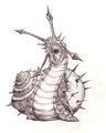 Lou Carcolh Drawing