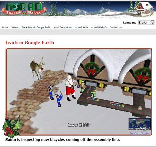 File:NORAD Tracks Santa - Google Earth - North Pole.jpg