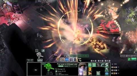 NOTD Starcraft - Forward Observer Gameplay
