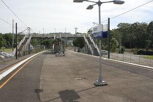 Niagara Park railway station