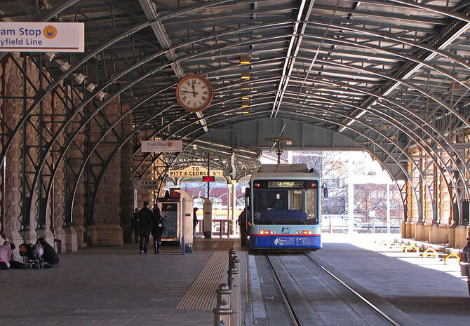 Central tram stop