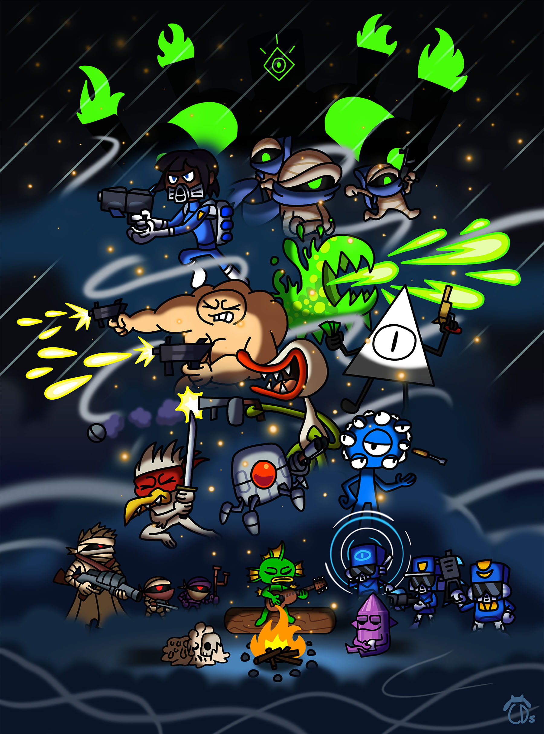 nuclear throne steroids guide