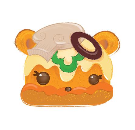 Veggie Pizza Clipart
