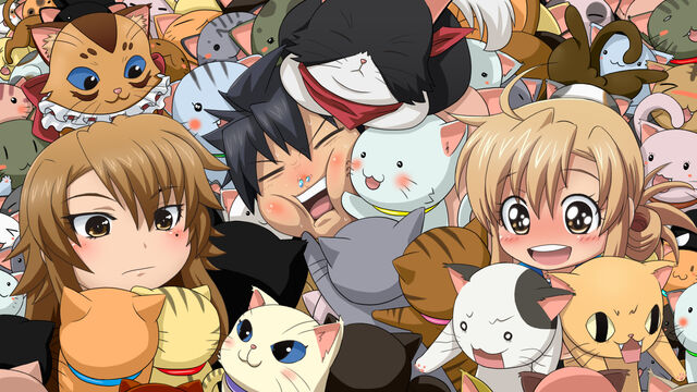File:Kousaka, Kaede, Kanako wallpaper.jpg