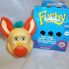Furby Burger King Toy 2005