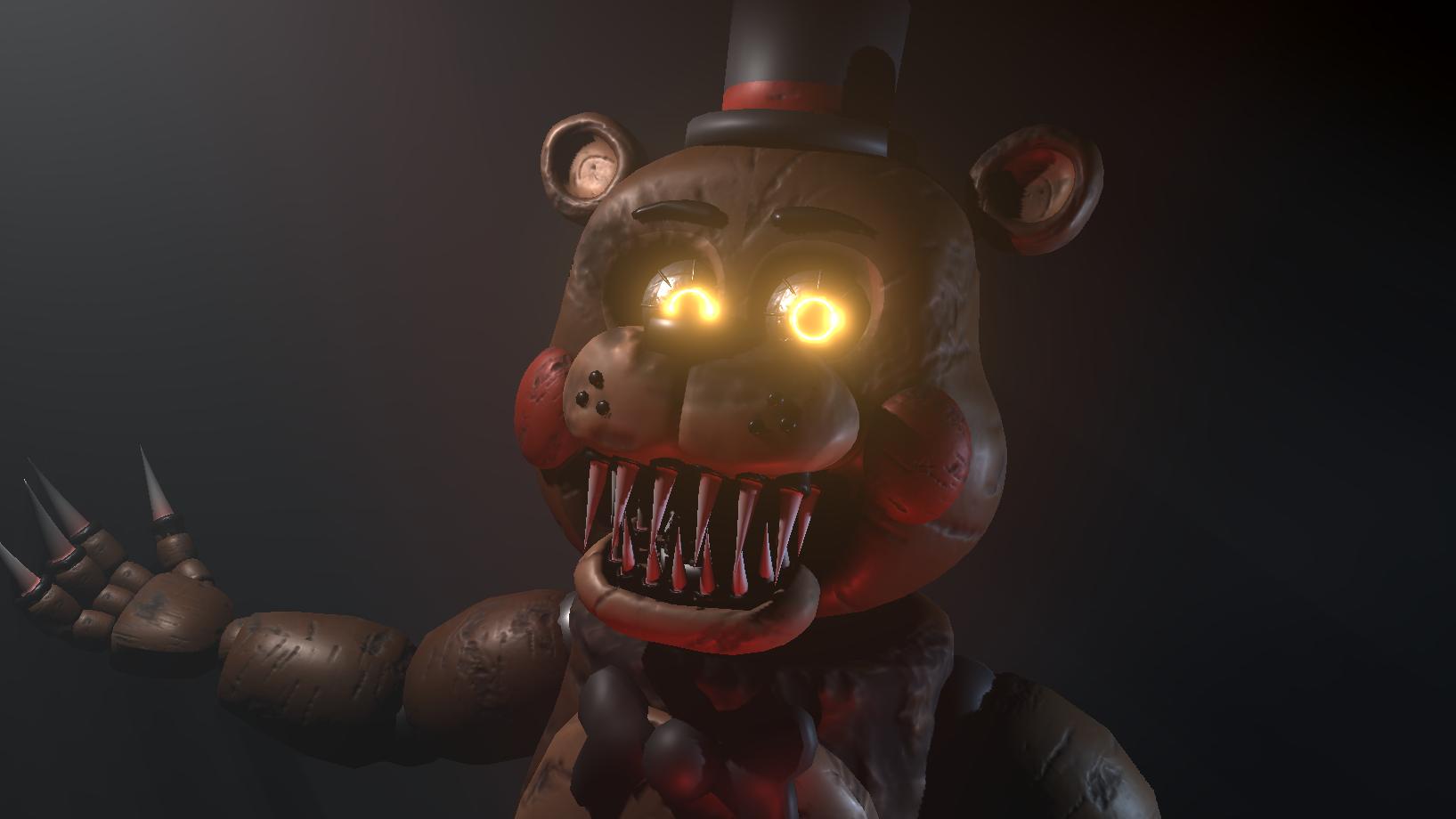 Prototype Freddy Official Sinister Turmoil Wikia