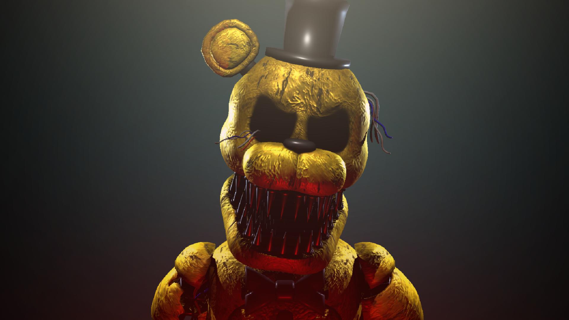 Sinister Golden Freddy Official Sinister Turmoil Wikia