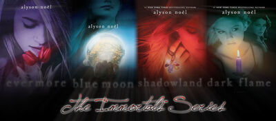 The Immortals Series by whitney12339