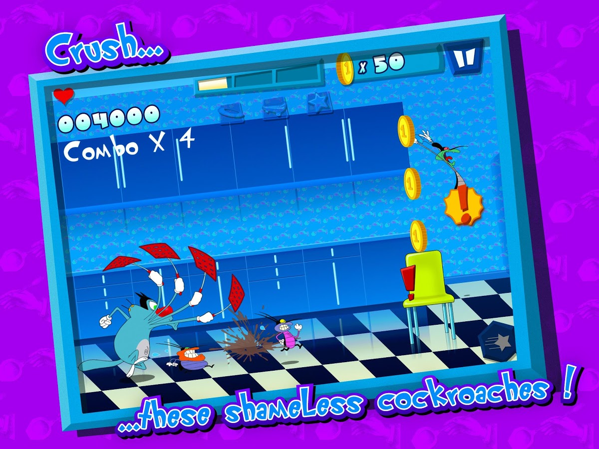 Oggy And Jack Car Games