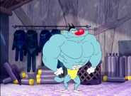 Oggys muscle 1