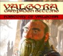 History of Valgora (Valgora Supplement)