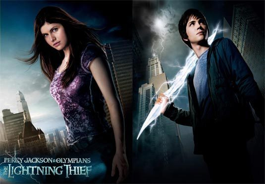 File:Percy and Annabeth movie poster for The Lightning Thief.jpg