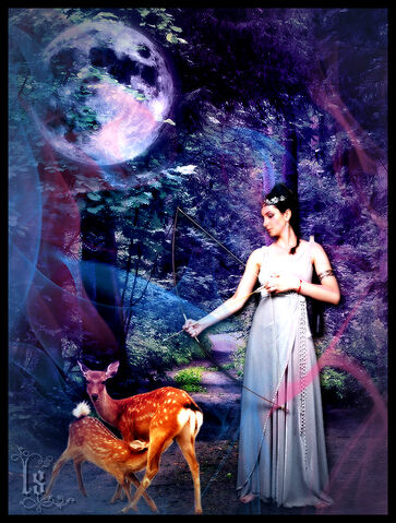 File:Greek Goddesses Artemis by empyreus.jpg