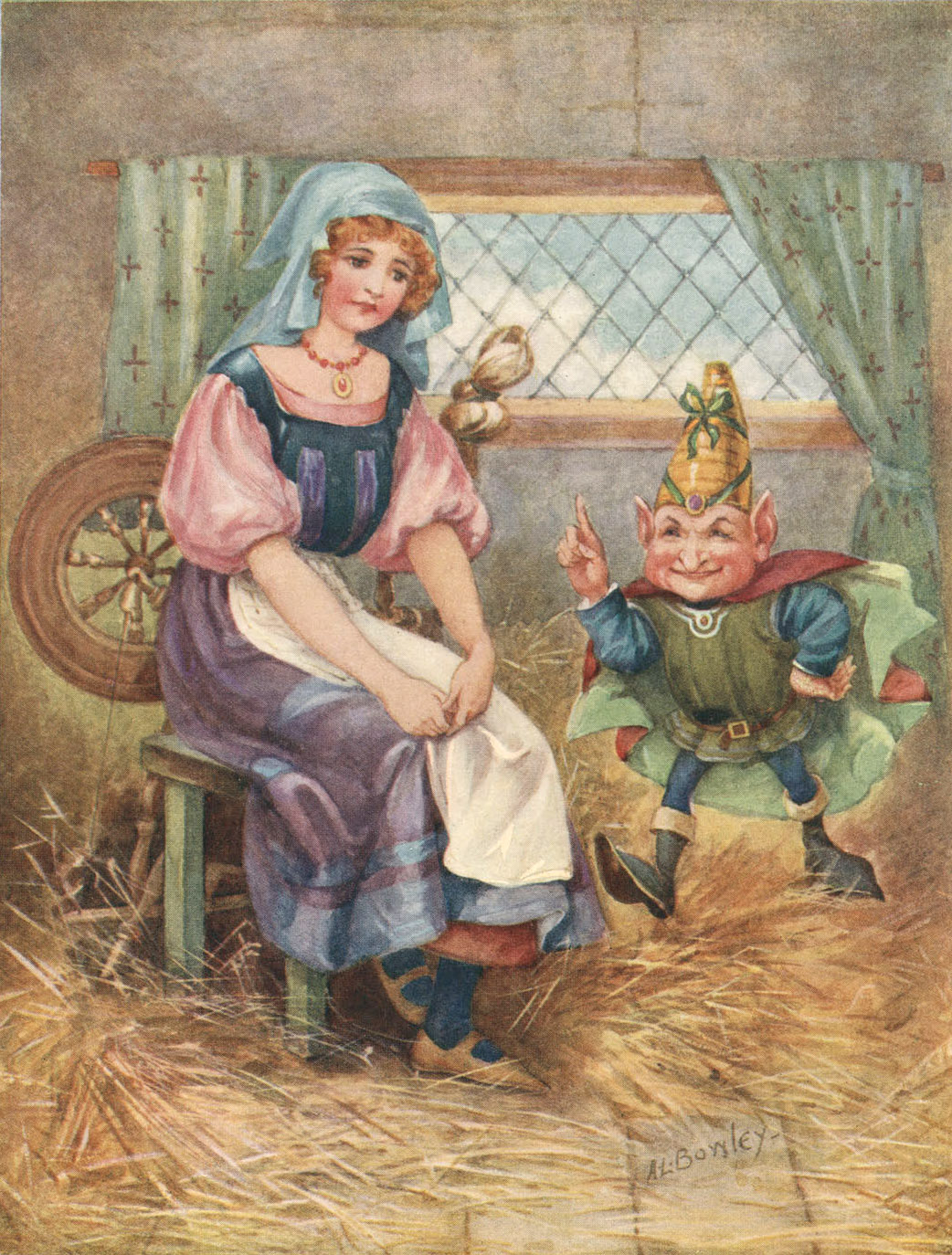"fairy tale and rumpelstiltskin Rumpelstiltskin is an odd and enduring tale, weird at so many levels that it has to make you wonder, ""what's up with that"" firstly, the bragging father whose."