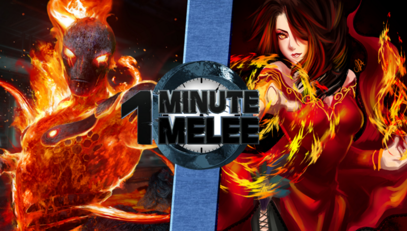 Cinder Vs Cinder Fall One Minute Melee Fanon Wiki
