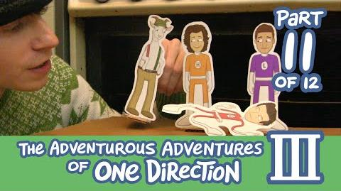 The Adventurous Adventures of One Direction 3 Part 11