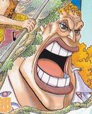 Dadan's Manga Color Scheme