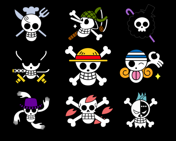File:Straw Hats Crew Jolly Rogers.png