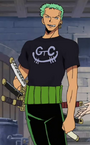 Zoro Post Enies Lobby Arc Outfit.png