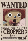 Tony Tony Chopper's Wanted Poster.png