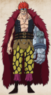 Eustass Kid Full Body Post Timeskip