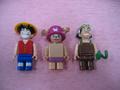 One Piece Mega Bloks Going Merry Figurine Set 1