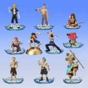 One Piece Full Color R Gashapon Set 1