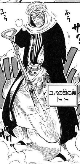 Toto Manga Pre Timeskip Infobox
