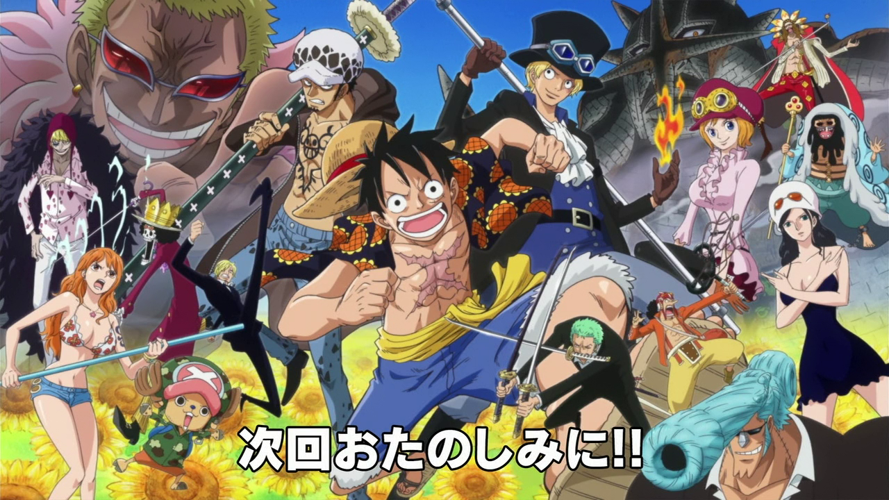 one piece dressrosa ending a relationship